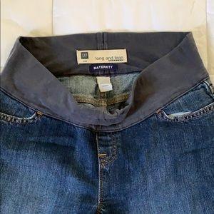 Maternity GAP jeans